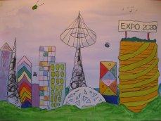 Детские рисунки на тему экспо 2018